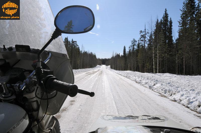 Traverser la frontire entre l'Alta russe et l'ouest de